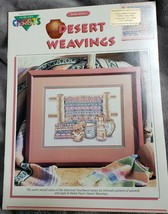 Color Charts Desert Weavings Counted Cross Pattern Helen Paul 10810 - $10.39