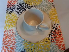 MUMS Table Runner -white, light blue, yellow, navy, and burnt orange. Mu... - $15.00