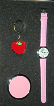Woman's Gift Set - Watch, Mirror & Key Chain - $10.00