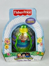 Little People Eddie Tippity Top Easter Egg~ New ~ Fisher Price - $15.90