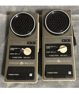 Pair Vintage Walkie Talkie General Electric GE Model YS7215A 1974 - $29.69