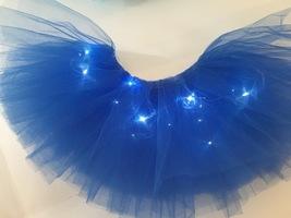 WOMEN MINI TUTU Skirt with Lights High Waisted Many Color Mini Petticoat Costume image 8