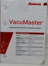Robinair VacuMaster 15500 HVAC High Performance Two Stage Vacuum Pump image 8
