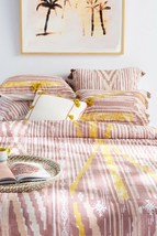 Anthropologie Acarda Duvet Cover QUEEN and 2 Standard Shams - NWT - $179.99