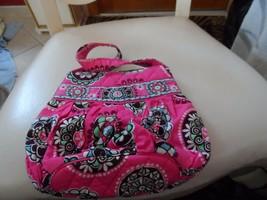 Vera Bradley small Hannah handbag in Pink Cupcake - $12.50