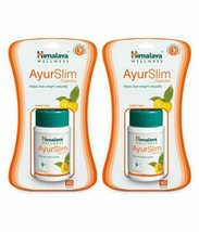 10 x 60 Tablets Himalaya Herbal Ayurslim Weight Fat Loss Stay Slim Fit Free Ship - $54.62