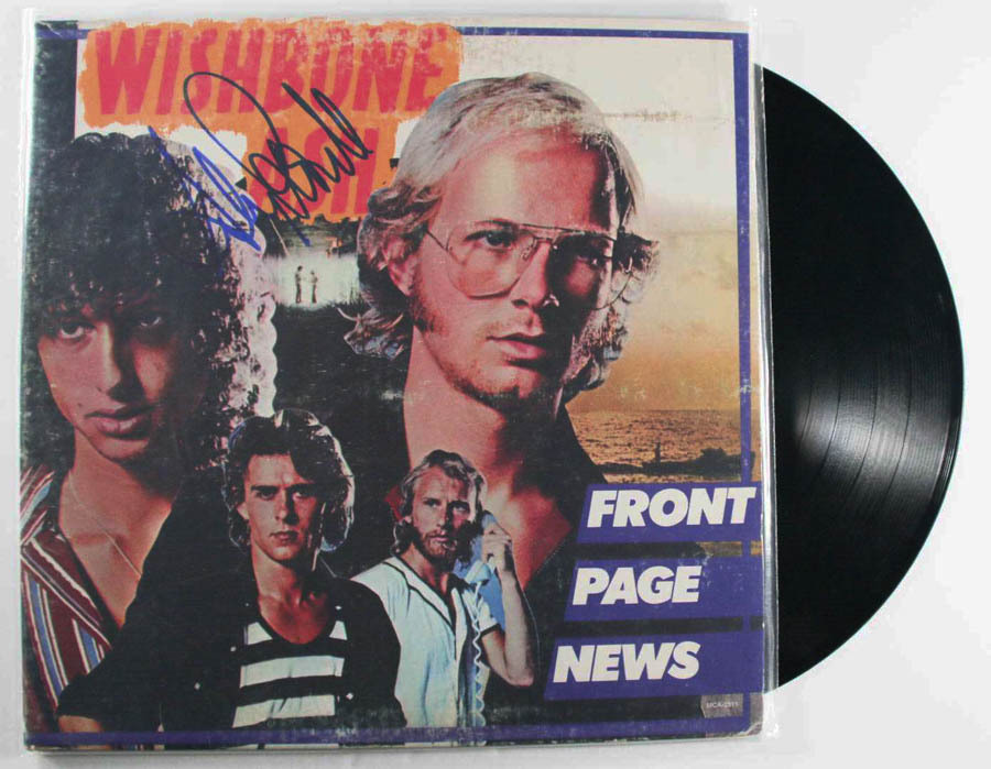 "Primary image for Andy Powell Signed Autographed ""Front Page News"" Record Album"