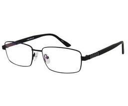 Ebe Bifocal Reading Glasses Mens Black Stainless Steel Rectangular Quality - $31.94