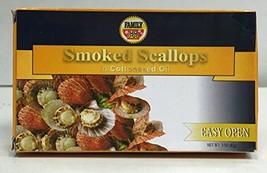 Family Smoked Scallops 3oz - 6 Packs - $44.55