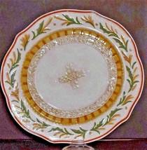 """Rare Fitz & Floyd Grand Haven Round Platter 12.5"""" - $17.81"""