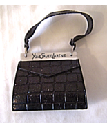 YoveSaved LaRent. Black Handbag Miniature Figure  Rare - $26.99