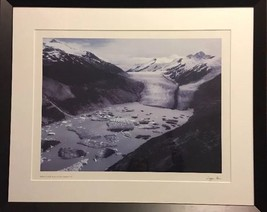Tipper Gore Bishop Glacier British Columbia Signed Photograph - $222.75