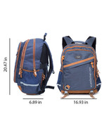 Unisex Travel Laptop Backpack Easy & Safe College-School-Office Day pack... - $30.18 CAD