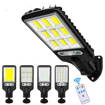 Outddor Solar Street Lamp LED Garden Waterproof Motion Sensor Security L... - $19.99+