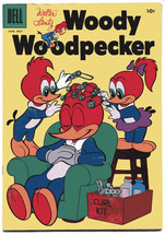 WOODY WOODPECKER 37 FN+ 6.5 1956 Walter Lantz Dell Comics    - $8.90