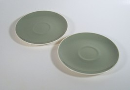 Pair of Saucers Harkerware Ivy Wreath Pattern by Harker - $3.99