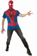 Adult Spiderman Costume Kit - The Amazing Spiderman 2, X-Large - $18.04