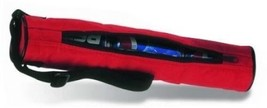 3-Can Insulated Tube Cooler with Main Zipper Red 620601 - $6.93