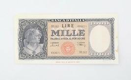 1949 Italia 1000 Liras Billete Casi que No Ha Circulado Banca D'Italia A... - $118.80