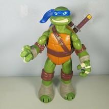 """Teenage Mutant Ninja Turtle 10"""" Leonardo Action Figure 2012 Playmates  - $20.99"""
