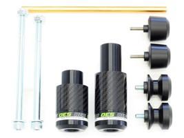 OES Carbon Frame Sliders Spools Fork Sliders 17 18 19 20 Kawasaki Ninja 650 - $139.99