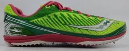 Saucony Kilkenny XC5 Size 9.5 M (B) EU 41 Women's Track Shoes Green Red ... - £16.99 GBP