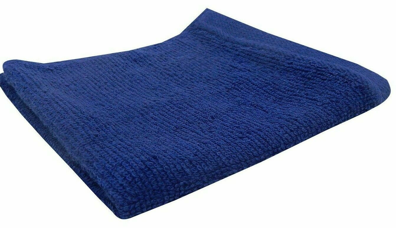 (LOT OF 3 ) Room Essentials Wash Cloth Set DANCING BLUE  12x12 -( New With Tags)
