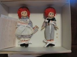 """Madame Alexander 8"""" Raggedy Ann and Andy Set - $97.00"""