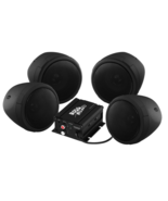 Boss Audio 1000w Bluetooth 4) Speakers+Amplifier Handlebar System Motorc... - $149.99
