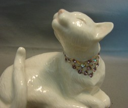"""Lenox """"Sweet Devotion"""" Bejeweled Pair of Cats - $36.00"""