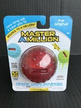 Master a Million Red Electronic Ball W/FREE App & Built In Aux Cord - NE... - $5.99