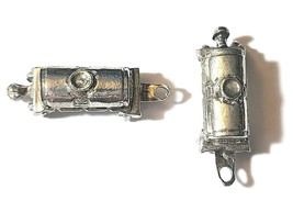 TANKER TRAIN FINE PEWTER  FIGURINE - Approx. 1 1/4 inches Long (T170) image 2
