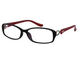 EBE Bifocal Reading Glasses Mens Womens Black Red Rectangular Light Weig... - $23.99