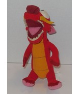 "Walt Disney World Exclusive Mulan Mushu 8"" plush toy RARE HTF - $14.00"