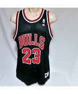 VTG Michael Jordan Chicago Bulls Champion Basketball Jersey NBA Original... - $68.95