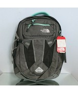THE NORTH FACE RECON WOMEN'S BACKPACK ZINC GREY/SURF GREEN - $69.97