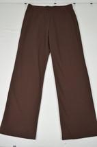 RALPH LAUREN ACTIVE NWT WOMENS BROWN CASUAL PANTS LARGE L MSRP $79.50 67... - $29.69