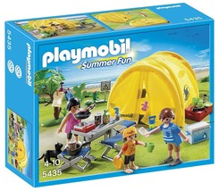 PLAYMOBIL Family Camping Trip #5435 NEW - $16.99