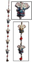 Indian Goddess Ganesh Door Hanging Mobile String Decoration Hindu God 10... - $108.19