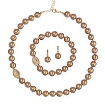 Avon Pearly Perfection 3-Piece Set Chocolate - $13.99