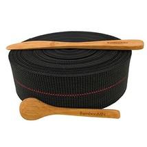 BambooMN Brand - Two-Inch Latex Elasbelt Webbing for Chair Repair - 40' ... - $23.89