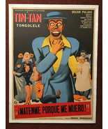 ¡¡¡Mátenme porque me muero!!! (1951) Tin-Tan & Tongolele By Francisco Ri... - $1,200.00