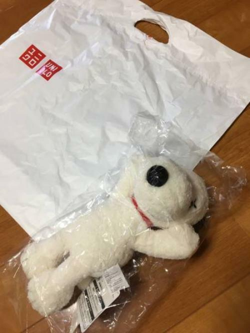 UNIQLO KAWS PEANUTS Snoopy Collaboration Plush Toy S Size Limited item rare new