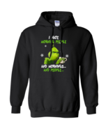 Grinch I Hate Morning People Ver2 G185 Pullover Hoodie 8 oz. - $29.50+