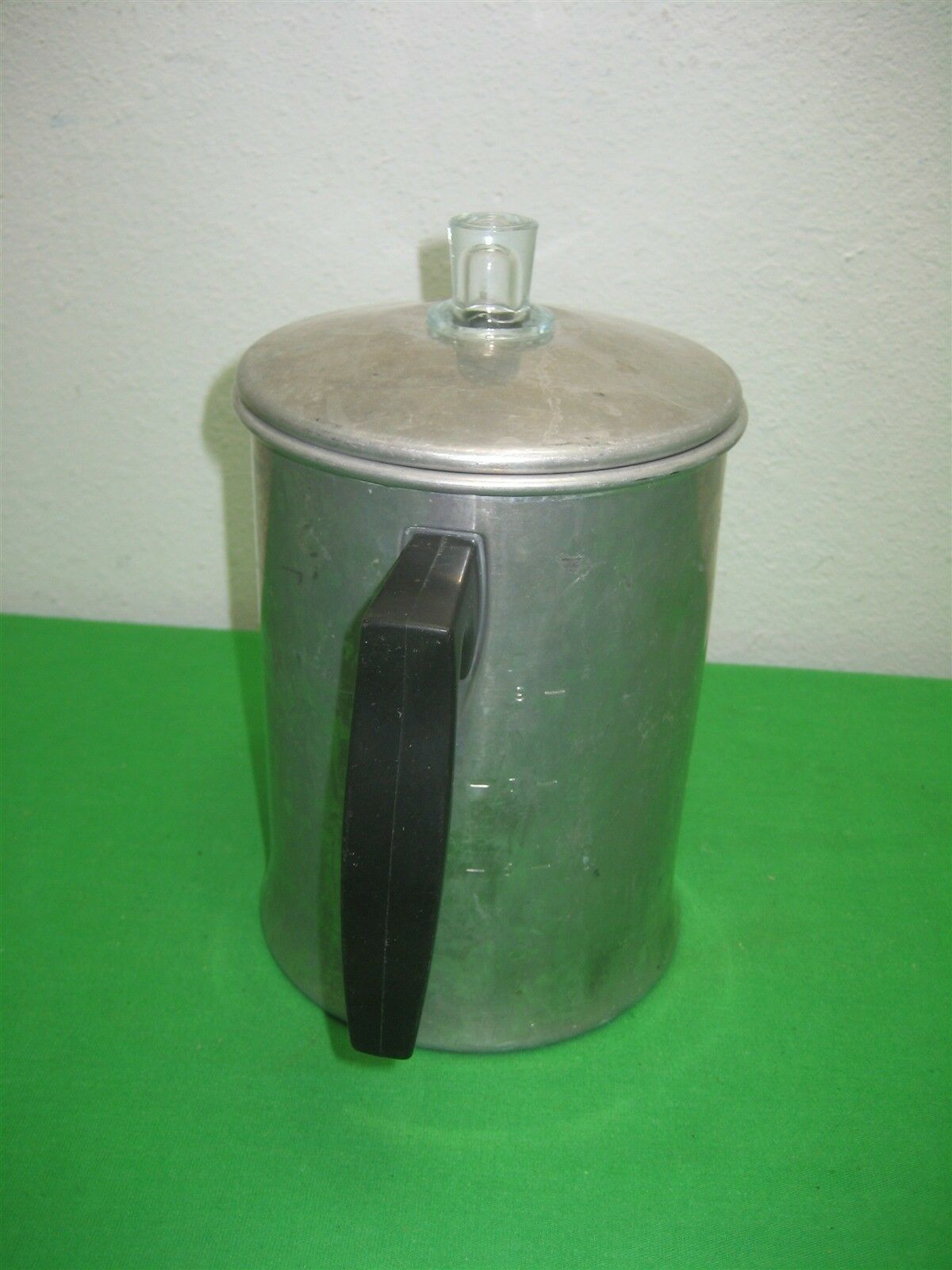 Vintage Wear-Ever Aluminum Percolating Coffee Pot for Camping No. X-3008 USA