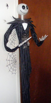 6ft Jack Skellington Nightmare Before Christmas Posable Hanging Hallowee... - €57,59 EUR
