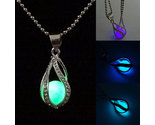 Rop necklace glow in the dark pendant the little mermaid romantic 4 colors kqs 356 thumb155 crop