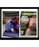 set of 2 life extension magazines back issue may 2012 & may 2016  - $18.99