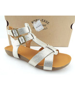 New KORK EASE Size 8 DOUGHTY Gold Platino Gladiator Ankle Sandals Shoes - $74.00