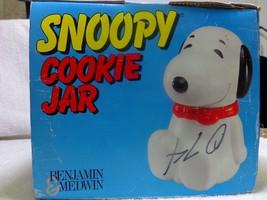 Benjamin Medwin Peanuts SNOOPY Red Baron Cookie Jar Canister Original Bo... - $59.99